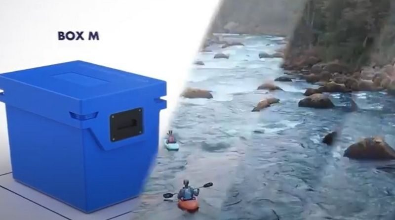 Innovative portable refrigerator that keeps it cool for days