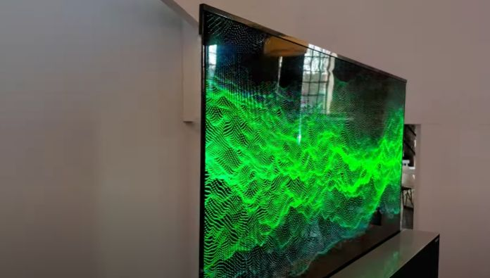 Rollable LG OLED TV