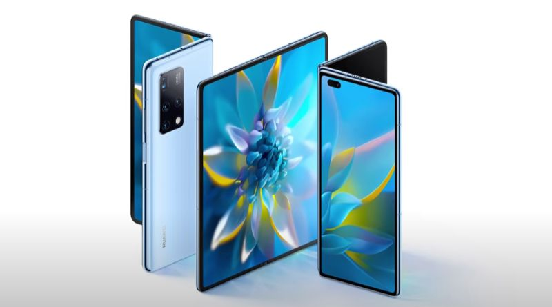 Huawei unveiled the Mate X2, the new foldable mobile