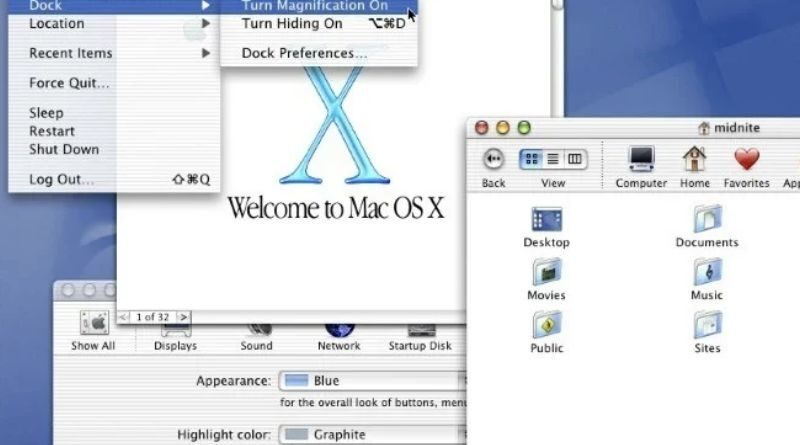Mac OS X : 20 years of continuous evolution