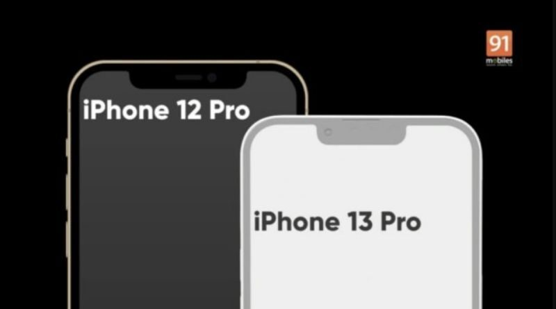 New iPhone 13 renders leaked with smaller notch