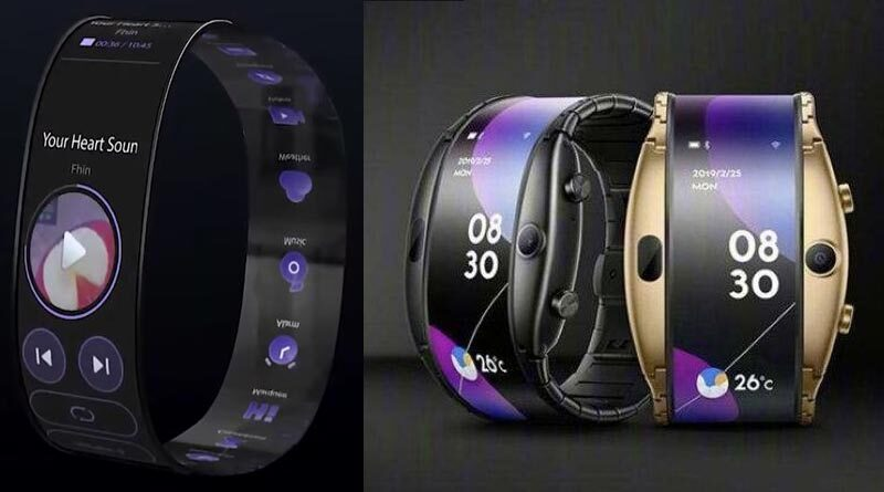Mi Band X: Without strap and with flexible screen