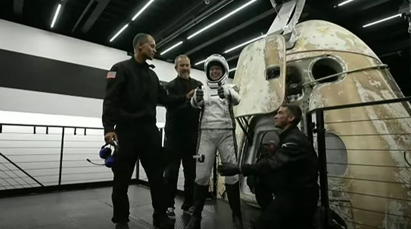 SpaceX: The first space tourists returned to Earth